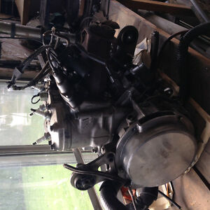 2009 Arctic cat m8 engine