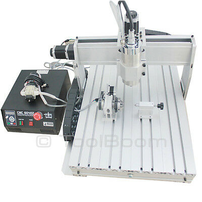 Chinacnczone 6040 4-axis Cnc Router Engraver 2200 W