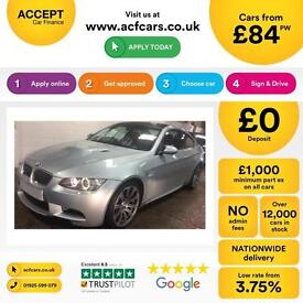 BMW M3 FROM £84 PER WEEK!