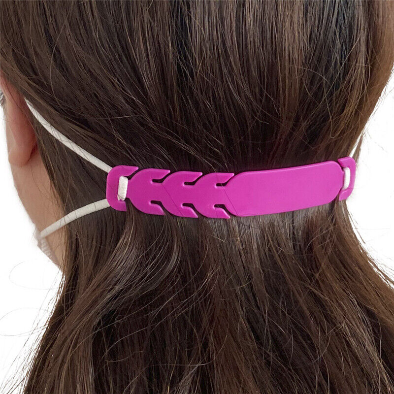 5 Mask Ear Strap Hook for Masks, Adjustable Extension Relieving Ear Pressure Business & Industrial