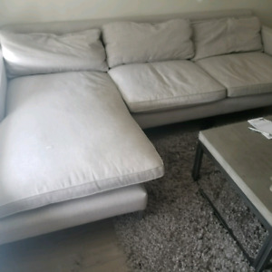 Couch and Bar stools