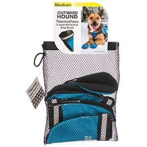 OUTWARD HOUND ThermoPaws Heat-Reflective Dog Boots - Medium