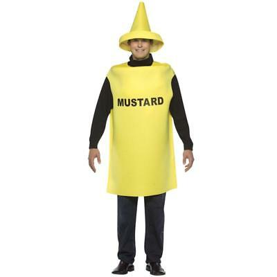 2 Pc Adult Mustard & Ketchup Condiment Costumes (Can buy 1 for $25 or 2 for $50)