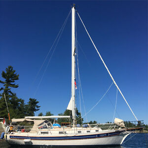 """Verity"" Gorgeous Bayfield 36 Cutter"