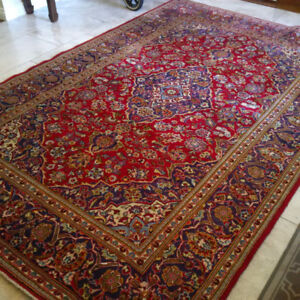 "Persian Rug Carpet - 9ft11"" x 6ft8"" - beautiful quality. $1000"