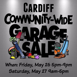 Cardiff Community Wide Garage Sale
