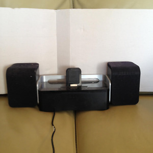 iPad Docking Station and Speakers
