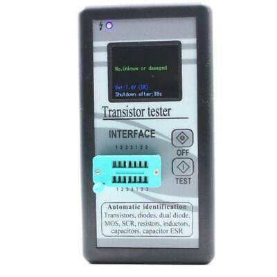 Transistor Tester Diode Resistor Inductance Mos Esr Lcr Meter Tft Color Display