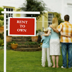 TIRED OF RENTING? CAN'T GET A MORTGAGE? CONSIDER RENT TO OWN!