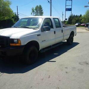 2000 Ford F-350 Pickup Truck, Boss v-plow