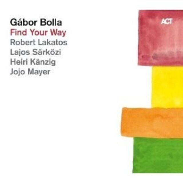 """GABOR BOLLA """"FIND YOUR WAY""""  CD NEU"""