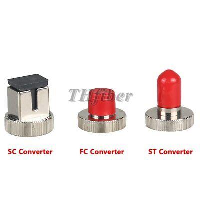 Optical Power Meter Scfcst Adapter Optical Fiber Power Converter