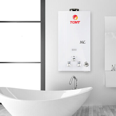 Tankless 16L Hot Water Heater Natural Gas NG 4.2 GPM On-Demand Whole House US