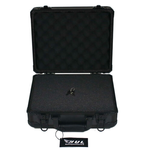 13in Aluminum Hard Case with Pelican 1400 Style Pluck Foam for Cameras Guns Lens