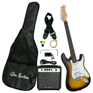 NEW Strat Style Electric Guitar,  Amp, Carry Case & More!