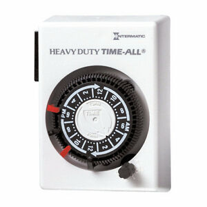 INTERMATIC 240V ANALOUGE TIMER FOR AIR CONDTIONERS & HYDROPONICS