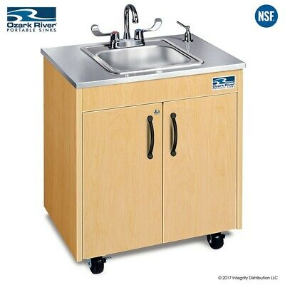 Ozark River Portable Sink Stainless Steel Countertop Basin Hot Water Hand Sink