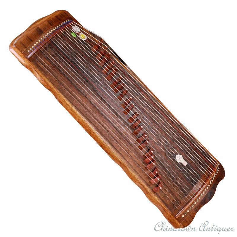 "38"" 21-String Guzheng Musical Instrument Zither Harp Koto Concert Grade #1402"