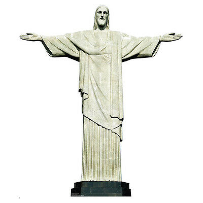 CHRIST THE REDEEMER Rio Jesus Statue CARDBOARD CUTOUT Standee Standup Poster Christ The Redeemer Statue Rio