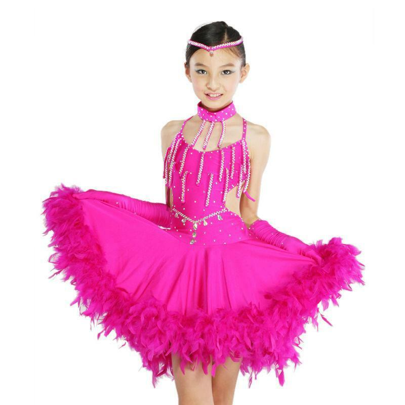 11a4dd348adf Girls Latin Dress  Children s Dancewear