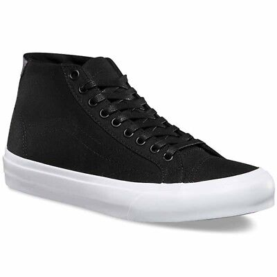 VANS Court Mid (Canvas) Black Sk8 Hi MEN