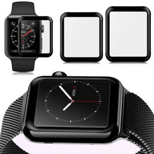 Apple Watch Series 1/2/3 38mm and 42mm 3D screen protectors