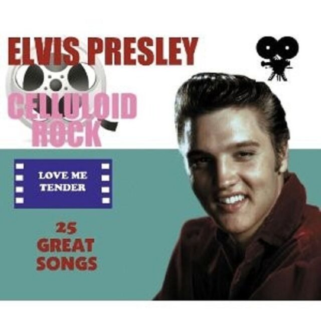 "ELVIS PRESLEY ""CELLULOID ROCK: LOVE ME TENDER"" CD NEUWARE"