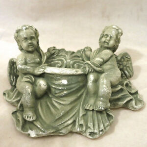 Lot 9 Nine Pieces Cherub Angels Wall Sconces Shelves Fountains Kitchener / Waterloo Kitchener Area image 3