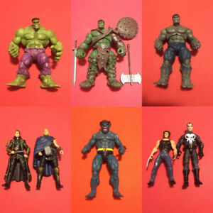 "3.75"" Marvel Universe: Infinite, Legends Action Figure Lot"
