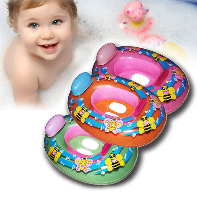 Kids Baby Seat Swimming Swim Ring Pool Aid Trainer Beach Float Inflatable Toys
