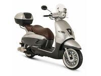 PEUGEOT DJANGO ALLURE 50 2T - CLASSIC RETRO SCOOTER - LEANER LEGAL - TWIST & GO