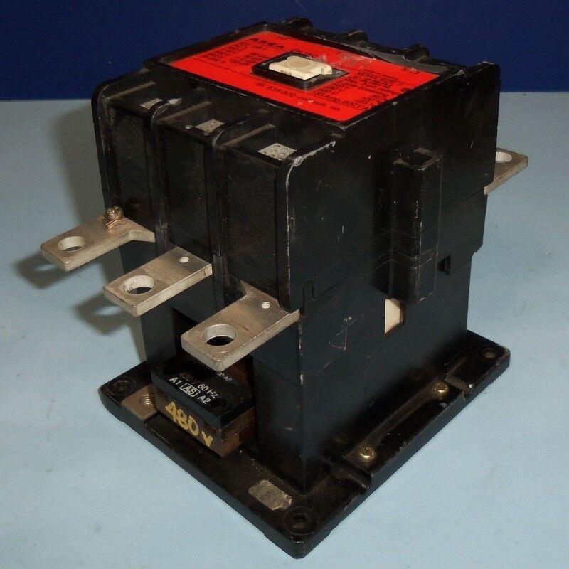 ASEA 480VAC COIL NEMA SIZE 4 135A CONTACTOR EH 150 *PZF*