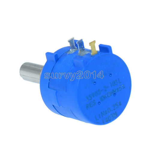 20K Ohm 3590S-2-203L Rotary Wirewound Precision Potentiometer Pot 10 Turn