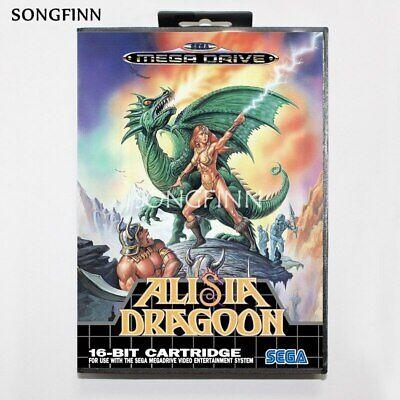 Alisia Dragoon Sega Mega Drive Game with Box
