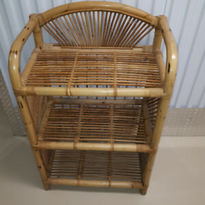 selling Natural Fiber with wood  book Shelf  or Multipupose use