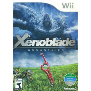 Xenoblade chronicles Rare wii game new