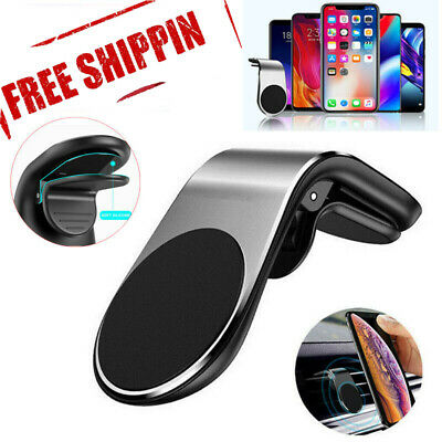Magnetic In Car Phone Holder Stand Air Vent Mount For iPhone Samsung GPS UK lo Car Mount Air Vent Gps