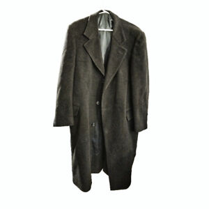 Cashmere and wool blend men's coat