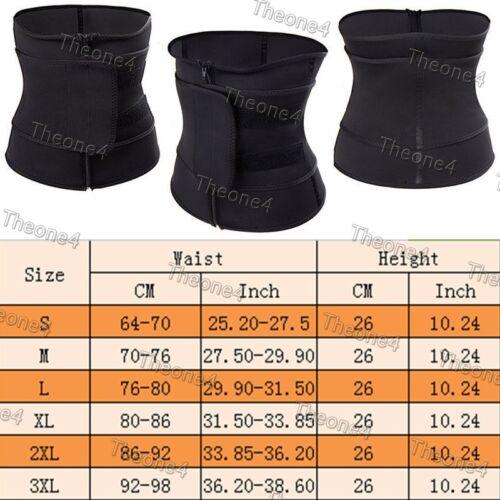 US Women Body Control Waist Trainer Cincher Slimming Shaper Zip and Clip Corset