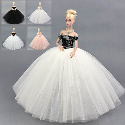 Doll Dress Costume Elegant Lady Wedding Dress For 11.5