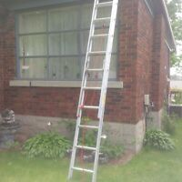 Brand new Extension ladder