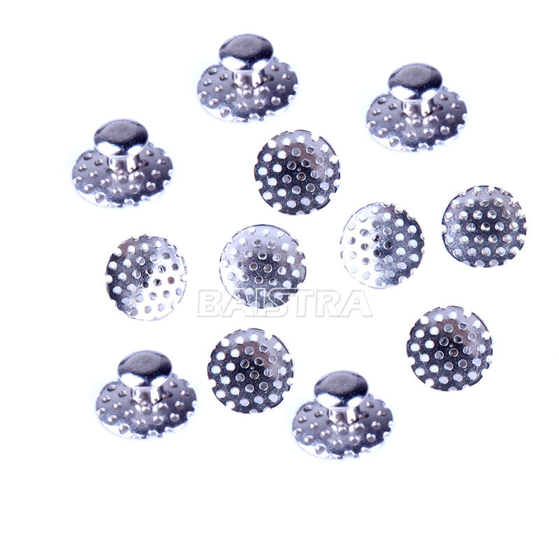 Denal Orthodontic Tomy Round Perforated Hollow Lingual Buttons With Holes