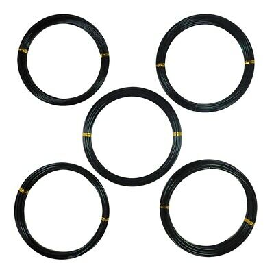 10X(Anodized Aluminum Bonsai Training Wire 5-Size Starter Set-1.0Mm,1.5Mm,2 B6K6