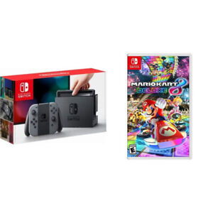 LNIB Nintendo Switch Console + Mario Kart 8 Bundle