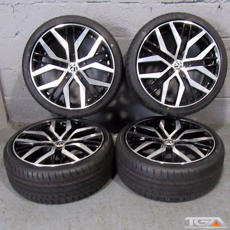 19 San Diego Style Alloy Wheels Will Fit Audi A3 Mk2 Mk3 Vw Passat