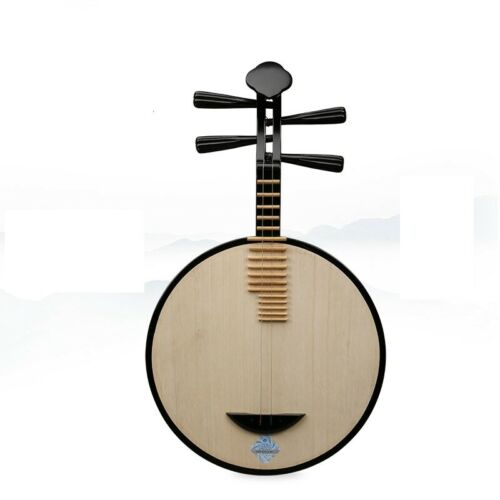 Yueqin - XINGHAI Hardwooden Chinese Moon Lute Banjo Musical Instrument #1152