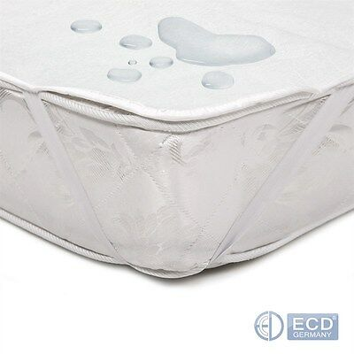 Matratzenschoner om 100% Baumwolle Matratzenauflage Matratzenschutz