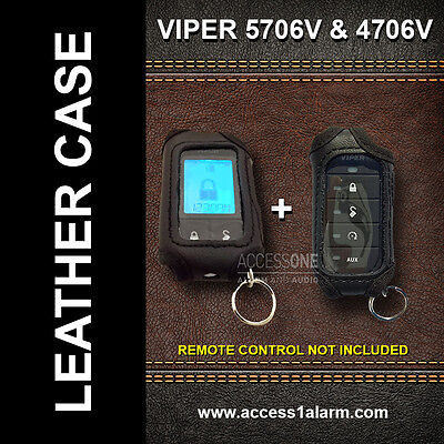 Viper 5706 & 4706 ((LEATHER REMOTE CASES)) For Both Remotes!