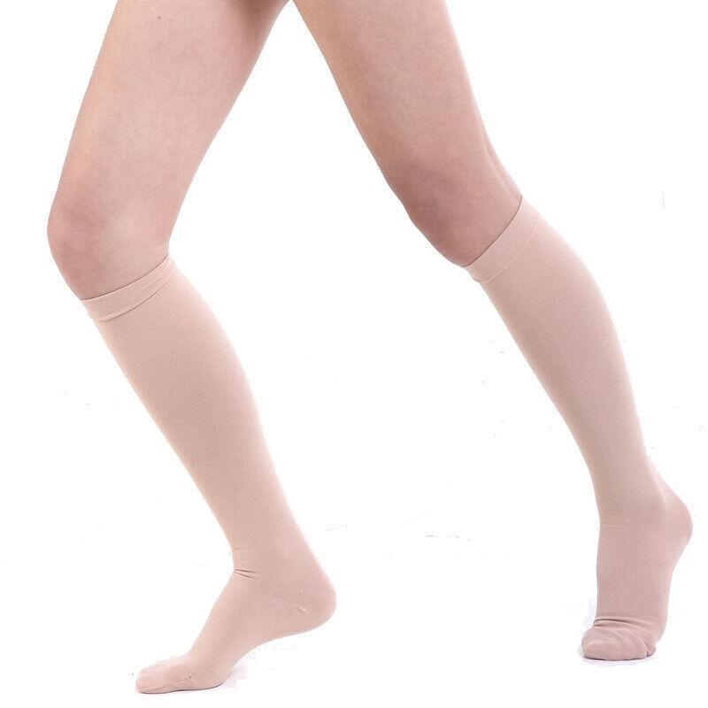 Compression Socks Women Men 20-30 mmHg Stockings Medical Cir