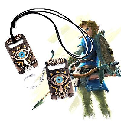 The Legend of Zelda Breath of the Wild Cosplay Necklace key Chain Accessories - Zelda Costume Accessories